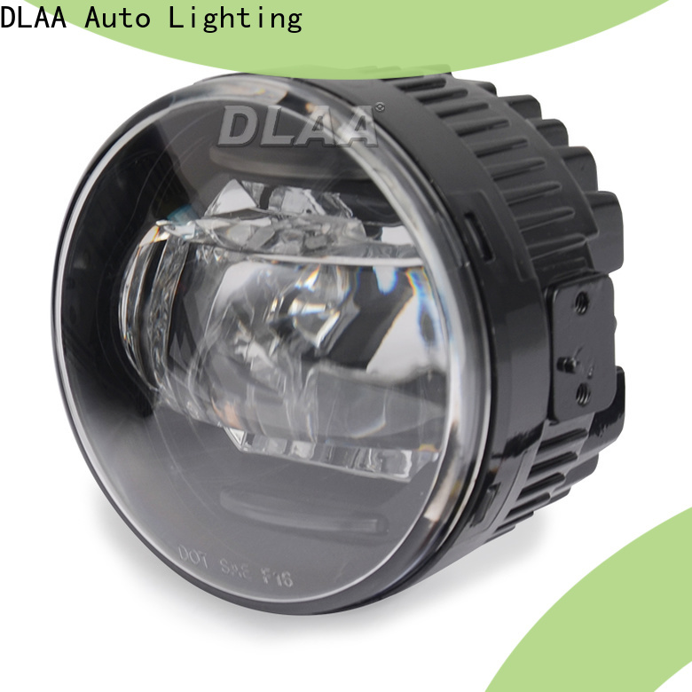 DLAA round led fog lamps directly sale for promotion