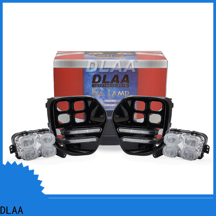DLAA led amber fog light factory direct supply for car