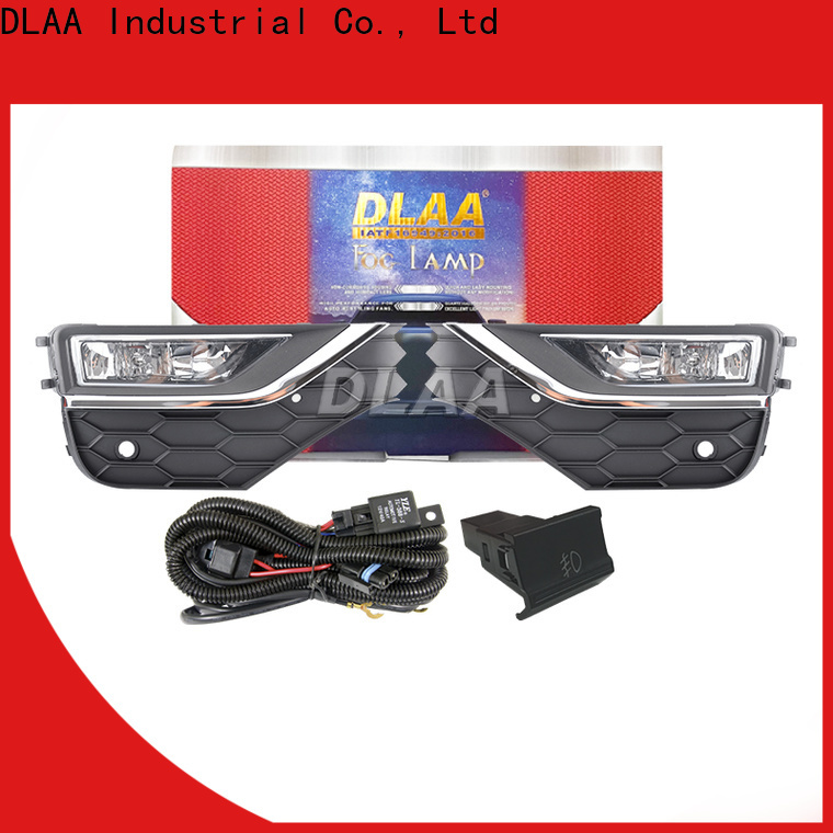 DLAA top led projector fog light manufacturer with high cost performance