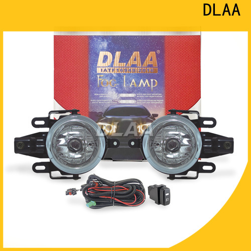 DLAA led amber fog light design for auto