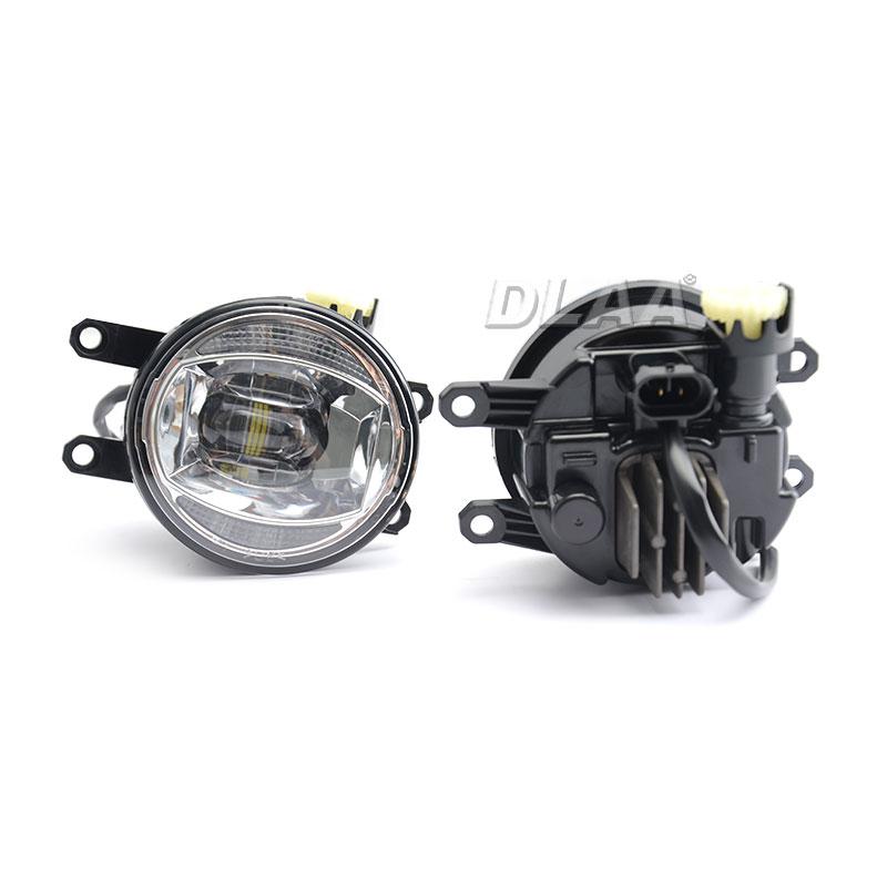 DLAA best round fog lights series for car-1